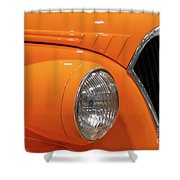 Classic Car Details Shower Curtain