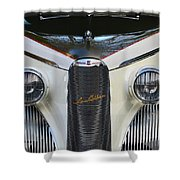 Classic Car Front End Shower Curtain