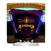 Classic Car Hood Ramones  Shower Curtain