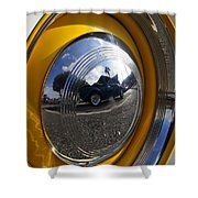 Classic Car Show Shower Curtain