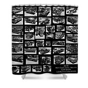 Classic Cars And Trucks Shower Curtain