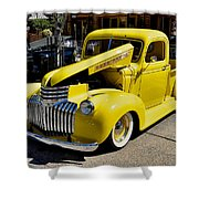 Classic Chevy Pickup Shower Curtain