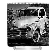 Classic Chevy Truck Shower Curtain