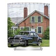 Classic Chrysler 1940s Sedan Shower Curtain