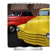 Classic Colors 5 Shower Curtain