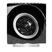 Classic Corvette Lines Shower Curtain