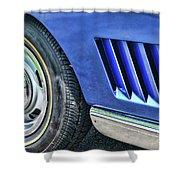 Classic Corvette Mako Shark 1965 Shower Curtain
