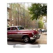 Classic Cuba Car Vii Shower Curtain