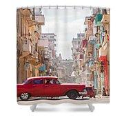 Classic Cuba Car Viii Shower Curtain