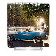 Classic Cuba Car Xii Shower Curtain