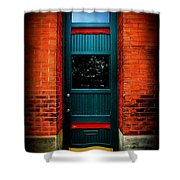 Classic Door Shower Curtain
