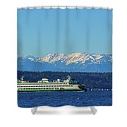 Classic Ferry Shower Curtain