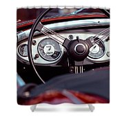 Classic Ford Convertible Interior Shower Curtain