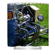 Classic Ford Hotrod Shower Curtain