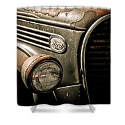 Classic Ford Truck Shower Curtain