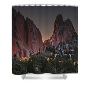 Classic Garden Of The Gods Shower Curtain