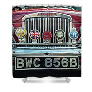 Classic Humber Shower Curtain by Nick Bywater