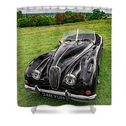 Classic Jag Shower Curtain