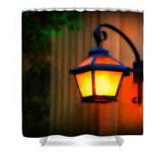 Classic Lamp Shower Curtain