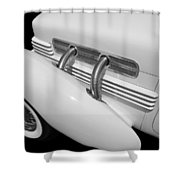 Classic Lines Shower Curtain by Aaron Berg