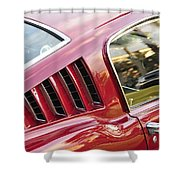 Classic Mustang Fastback Shower Curtain