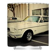 Classic Mustang Shower Curtain