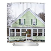 Classic New Englander Home Shower Curtain
