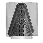 classic New York architecture Shower Curtain