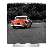 Classic Old Ford Mercury Shower Curtain