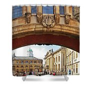 Classic Oxford Shower Curtain