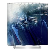 Classic Painted Shower Curtain