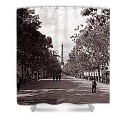 Classic Paris 10 Shower Curtain