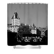 Classic Paris 12b Shower Curtain