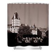 Classic Paris 12c Shower Curtain