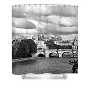 Classic Paris 5 Shower Curtain
