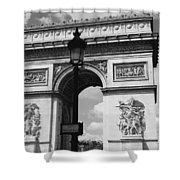 Classic Paris 6 Shower Curtain by Andrew Fare