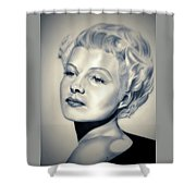 Classic Rita Hayworth Shower Curtain
