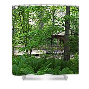 Classic Solitude Shower Curtain