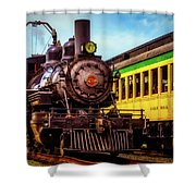 Classic Steam Train No 29 Shower Curtain
