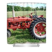 Classic Tractor Shower Curtain