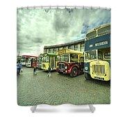 Classic Transport  Shower Curtain