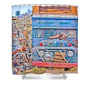 Classic Ward Colorado Boulder County Shower Curtain