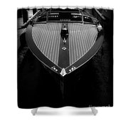 Classic Wooden Boat 2 Shower Curtain