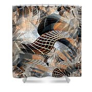 Classical-1 Shower Curtain