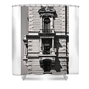 Classical Balcony Budapest Shower Curtain