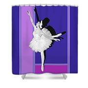 Classical Ballet Shower Curtain