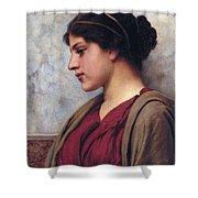 Classical Beauty John William Godward Shower Curtain
