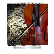 Classical Cello Shower Curtain