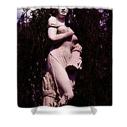 Classical Farm Girl Shower Curtain