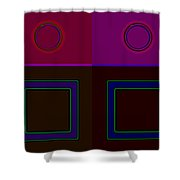 Classical Four Shower Curtain